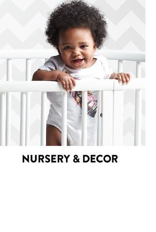 Nursery and baby room decor.