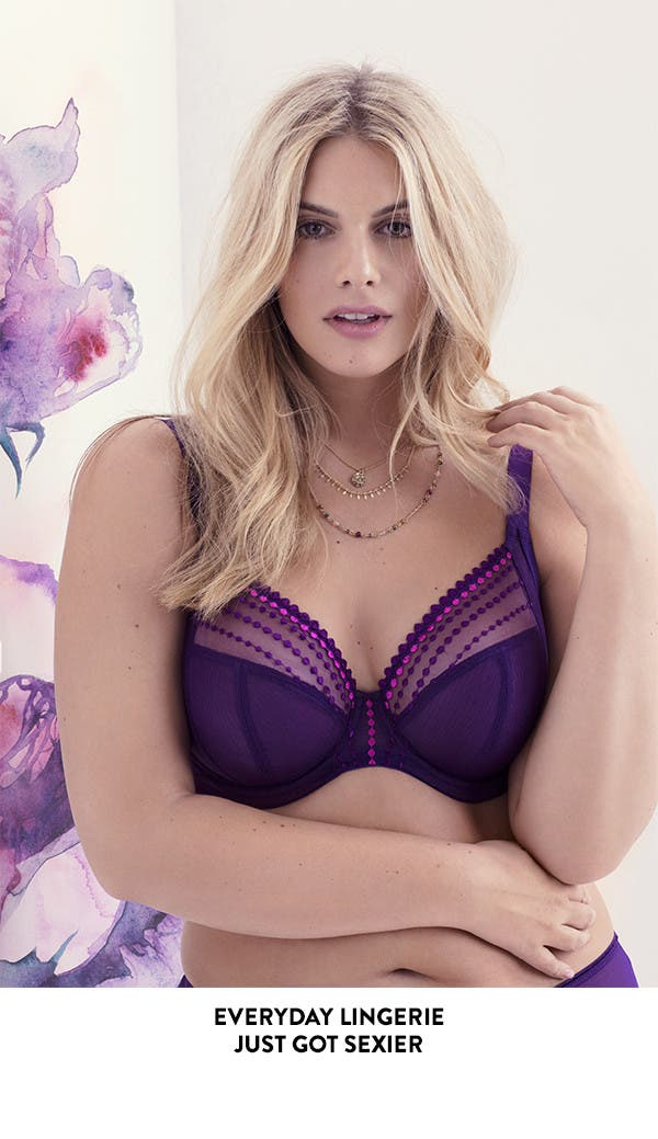 Everyday plus-size lingerie just got sexier.