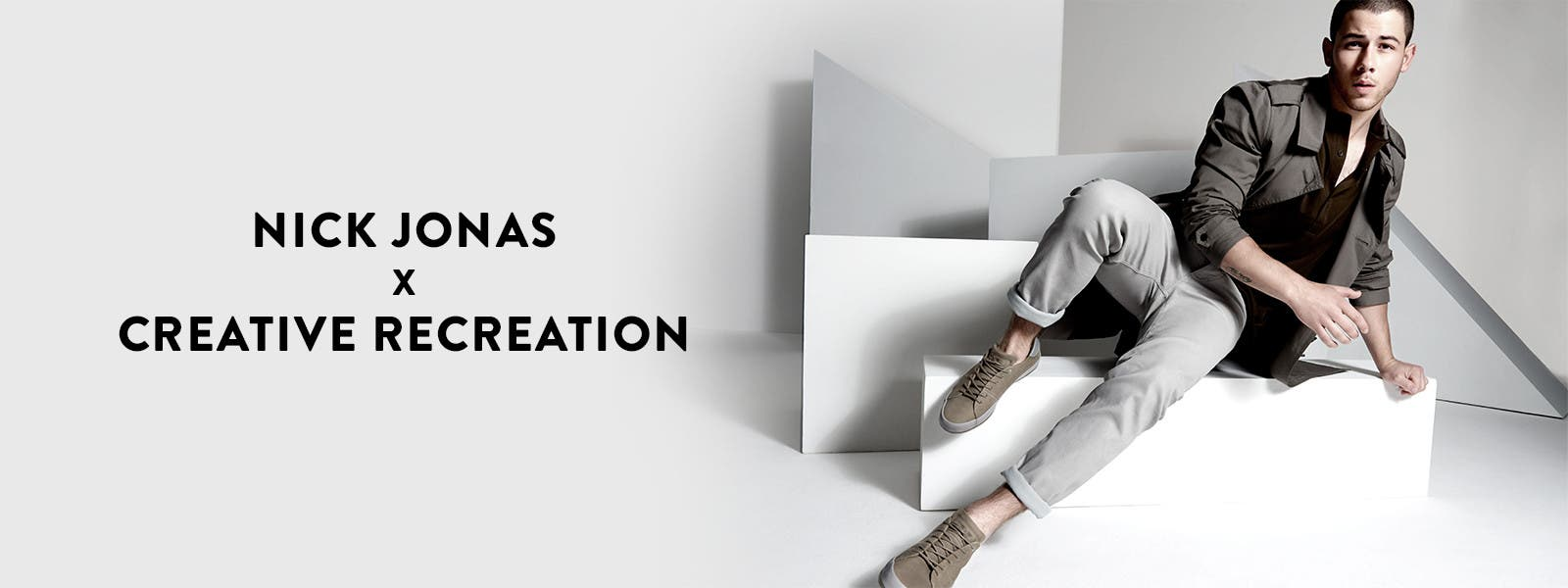 Nick Jonas and Creative Recreation collaborate on a new casual shoe.