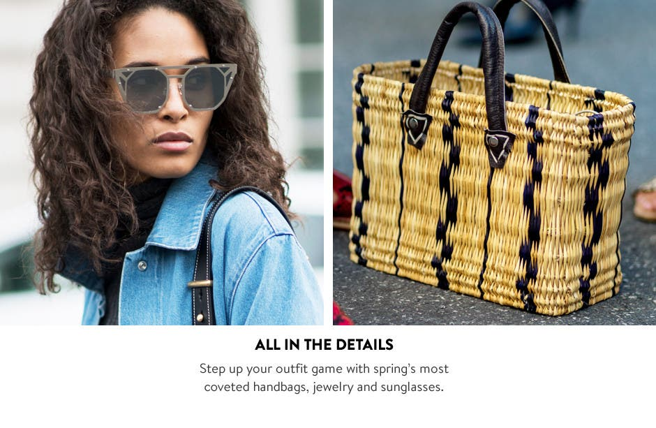 All in the details - vacation accessories.