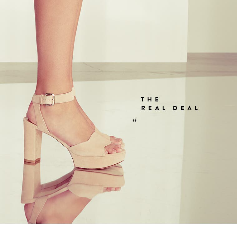 The Real Deal sandal.