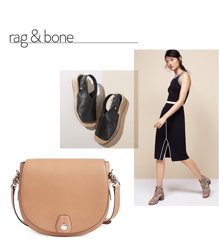 rag & bone clothing, shoes and handbags.