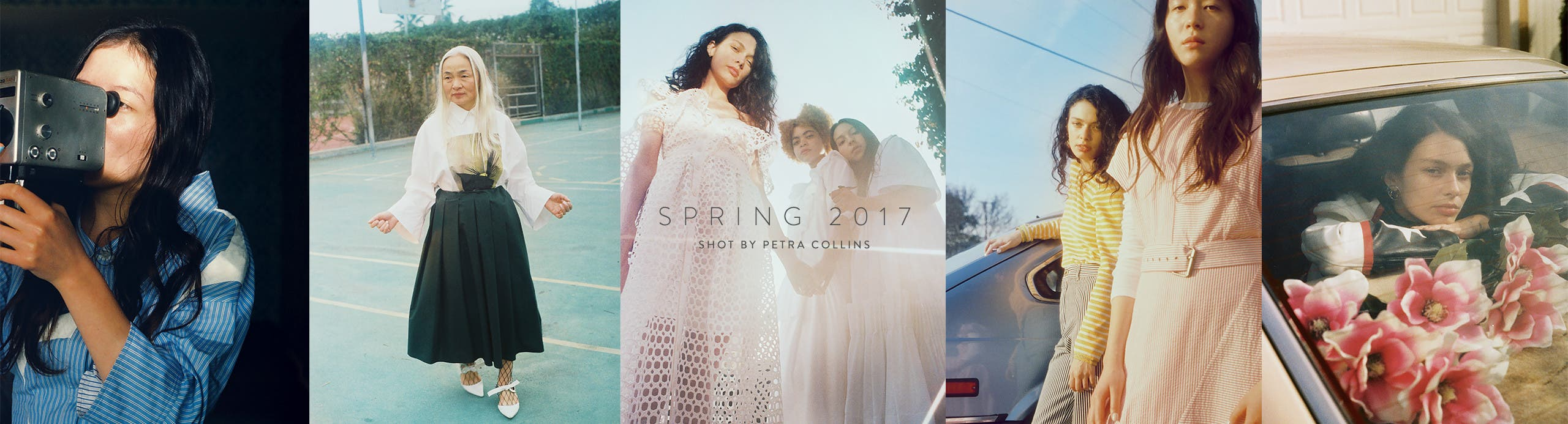 Spring 2017, shot by Petra Collins.