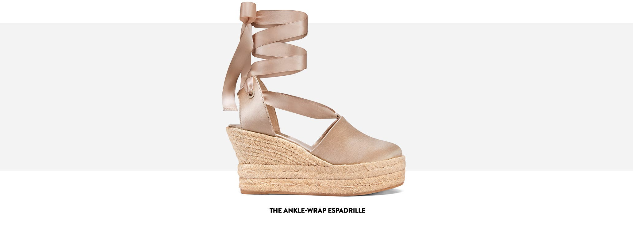 The Ankle-Wrap Espadrille