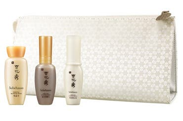 Sulwhasoo skin care gift with purchase.
