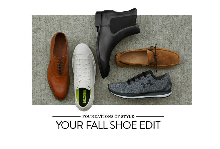 Your Fall Shoe Edit.