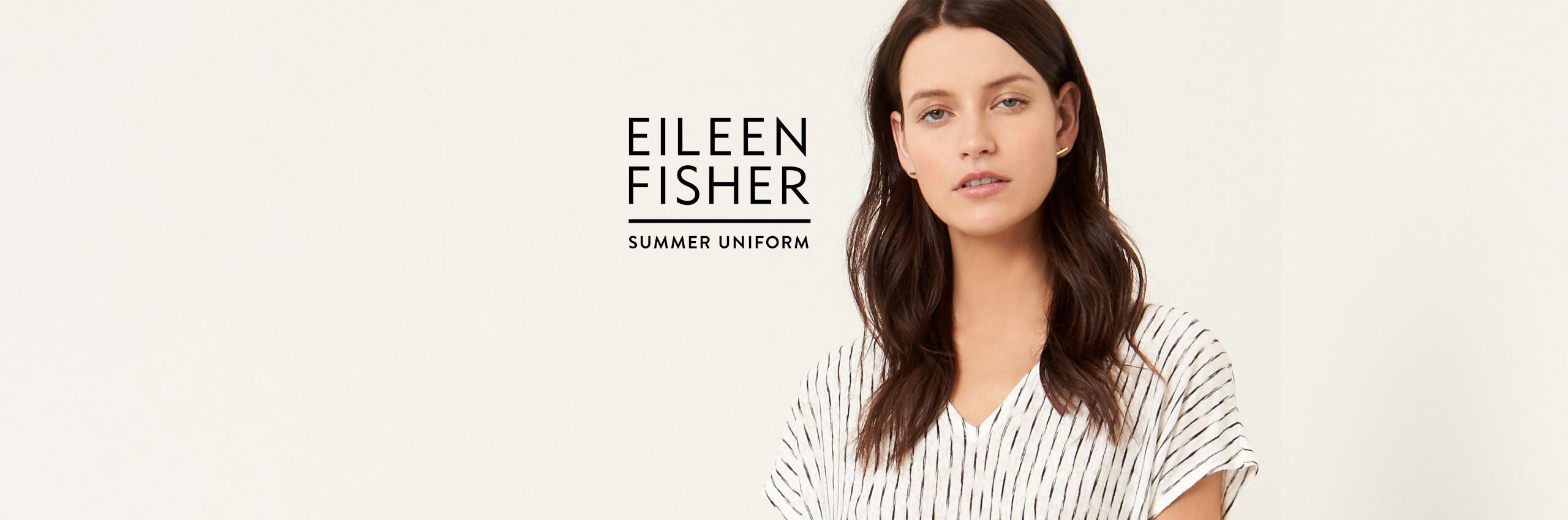 Your Eileen Fisher summer uniform.