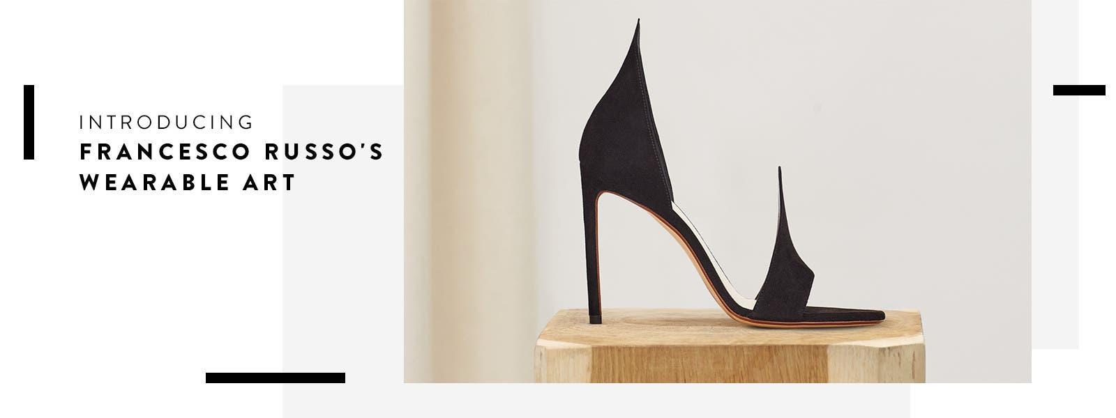 Introducing Francesco Russo shoes.