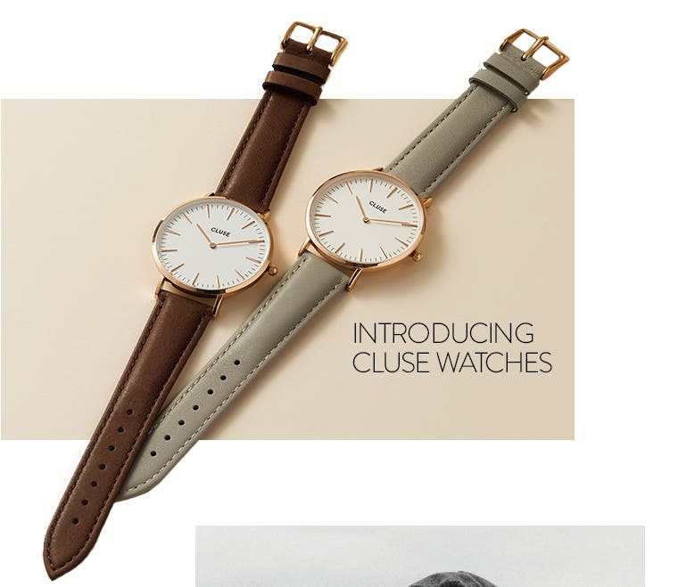 Cluse watches now at Nordstrom.