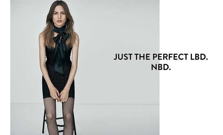 Just the perfect LBD. NBD.