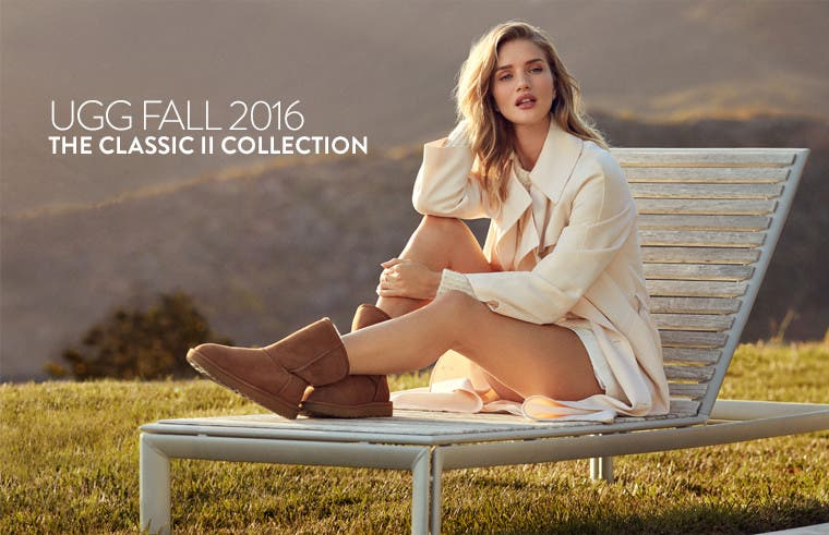 UGG Fall 2016: the Classic II collection for women.