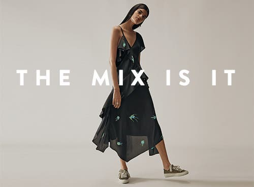 Spring trends: the mix is it.