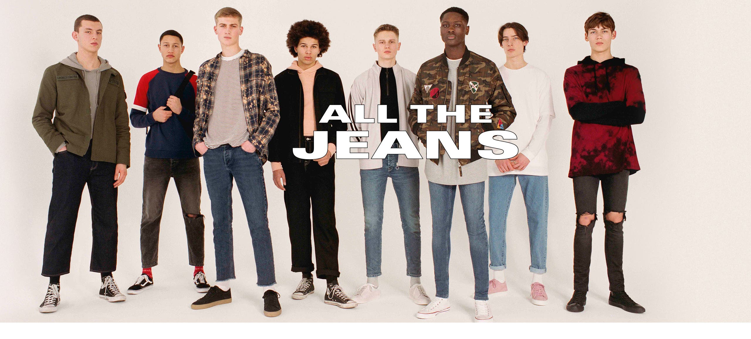 All the jeans, from Topman and more.