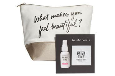 bareMinerals gift with purchase.