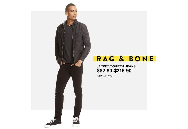 Anniversary Sale: Save on clothing from rag & bone and more.