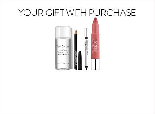 Receive a free 4-piece bonus gift with your $100 Trish McEvoy purchase
