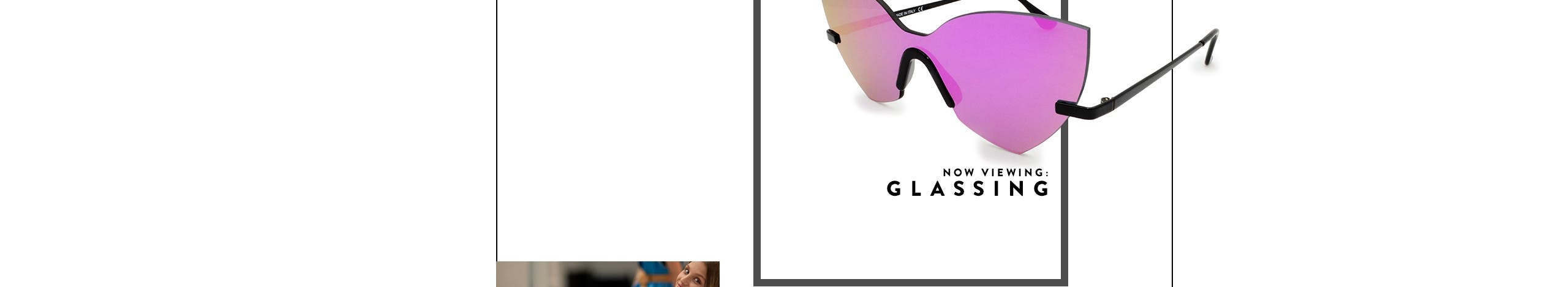 Now viewing: Glassing sunglasses and glasses.