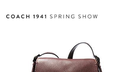 COACH 1941 spring '16 show.
