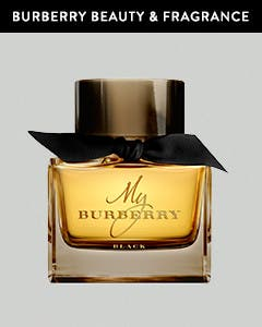 Burberry makeup and fragrance.