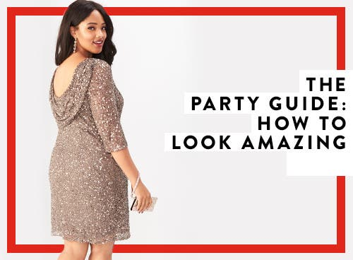 The plus-size party guide: how to look amazing.