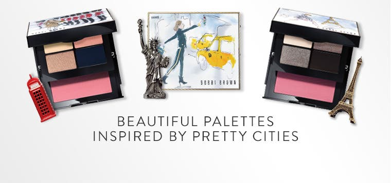 Beautiful palettes inspired by pretty cities.