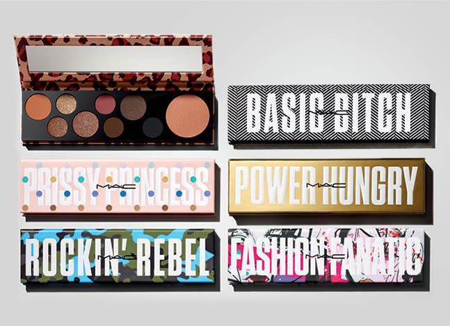 Six MAC palettes to express your personality.