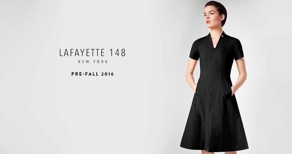 Lafayette 148 New York pre-fall 2016.