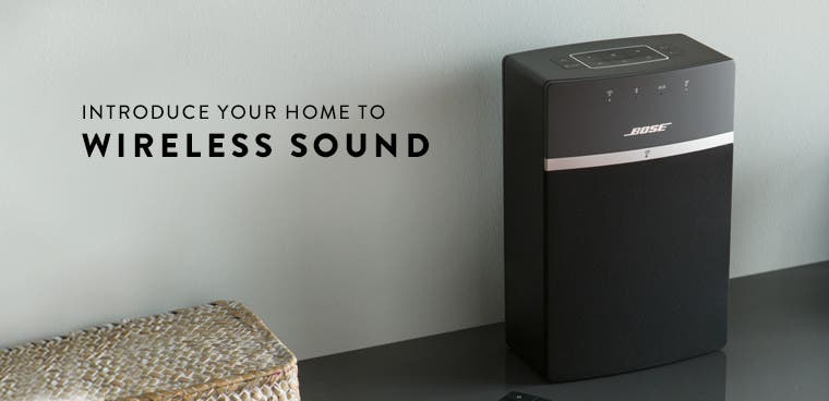 Bose SoundLink wireless speaker system.