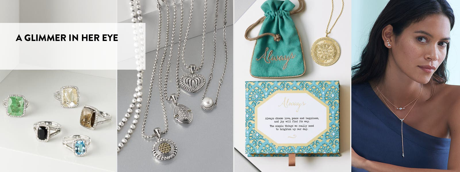 A glimmer in her eye: Mother's Day gifts.