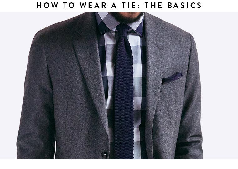 Play video about how to wear a tie.