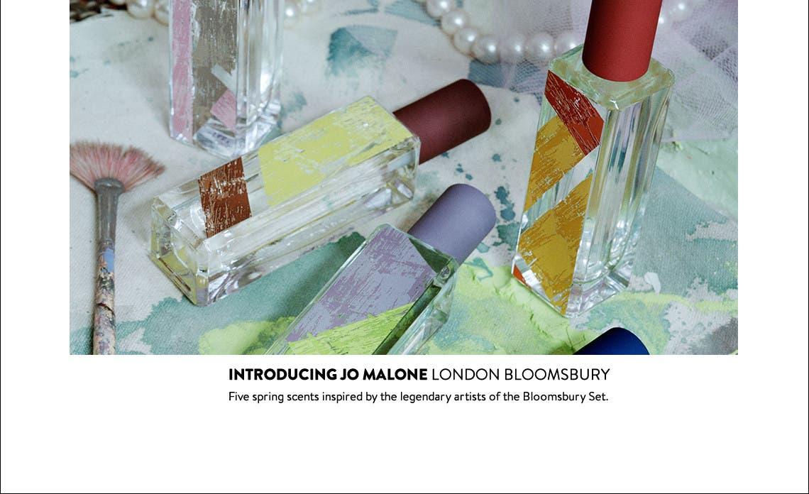 Introducing Jo Malone London Bloomsbury.