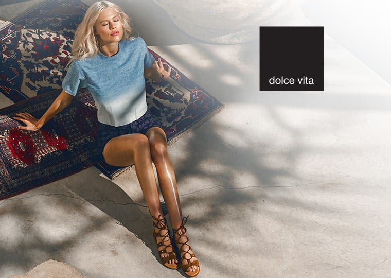 Trend-right shoes for women from Dolce Vita.