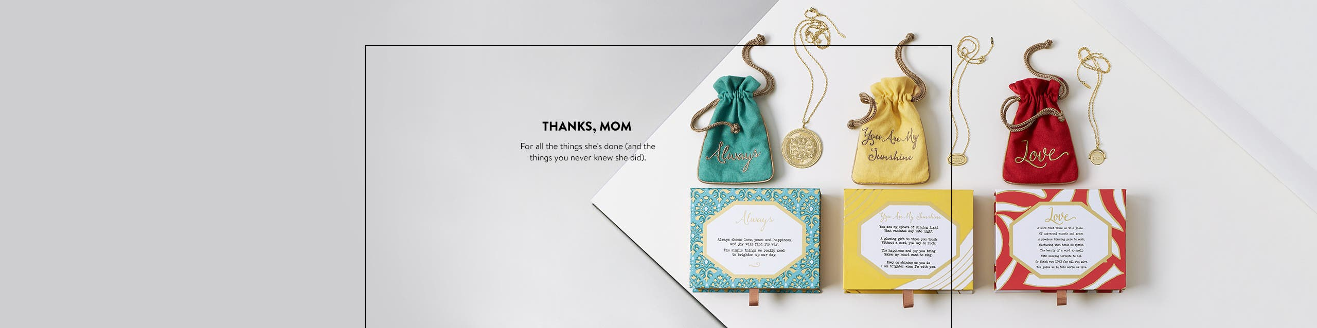 Thanks, Mom: Mother's Day gifts.