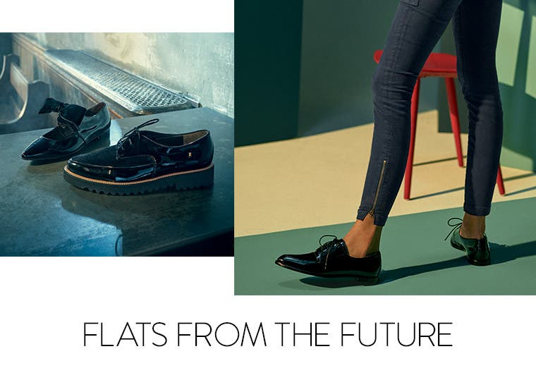 Women's flats from the future.