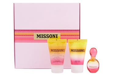 Missoni fragrance gift with purchase.