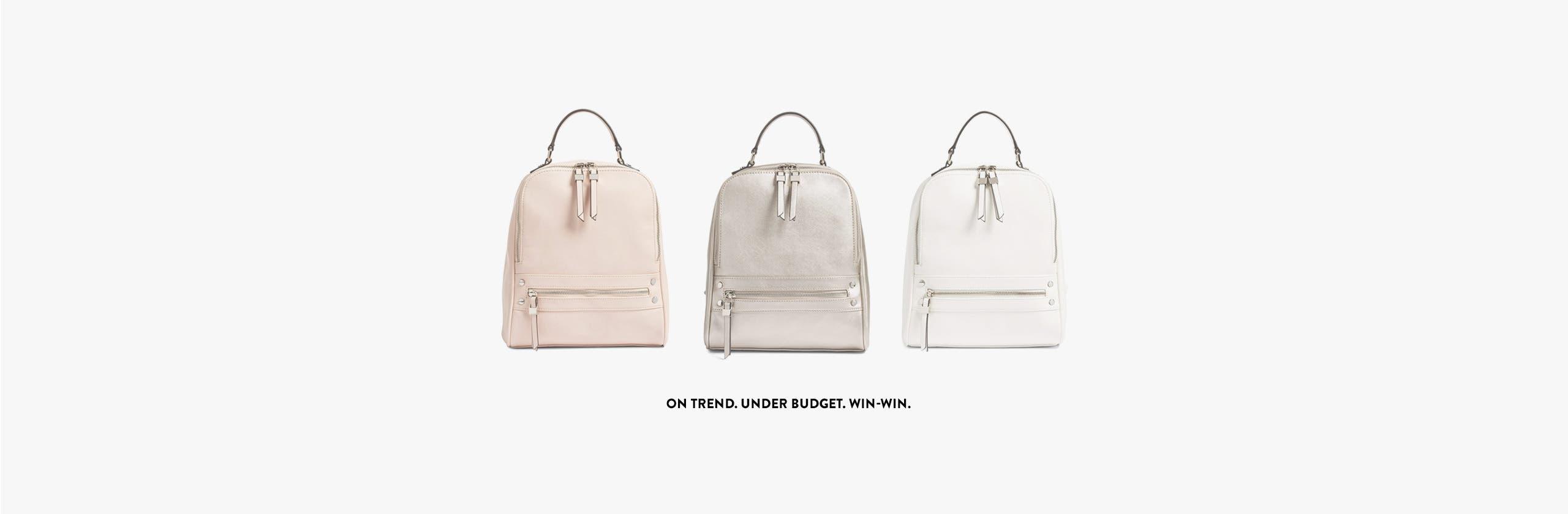 On-trend handbags under $100.
