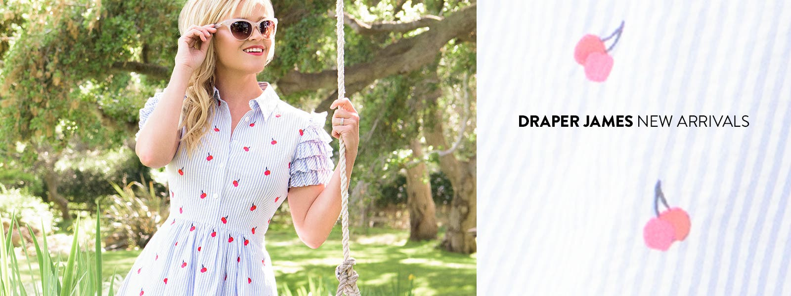 New arrivals from Draper James, founded by Reese Witherspoon.