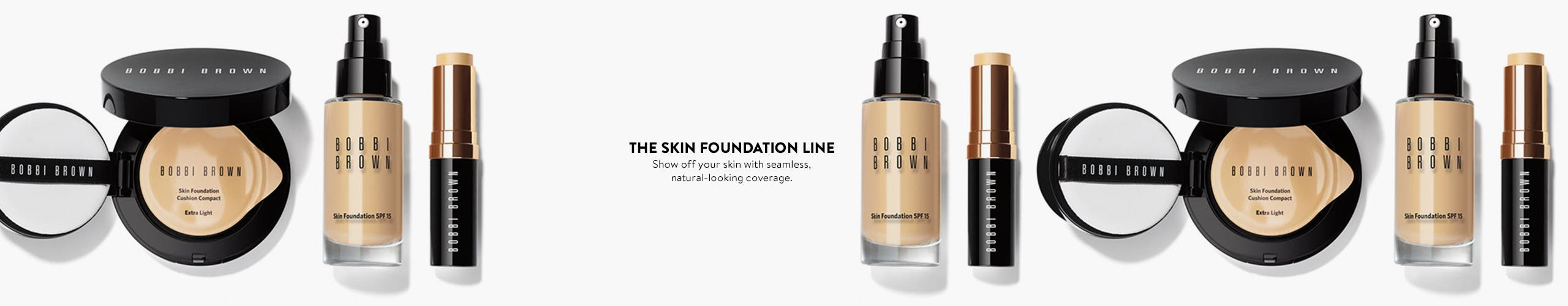The Skin Foundation line.