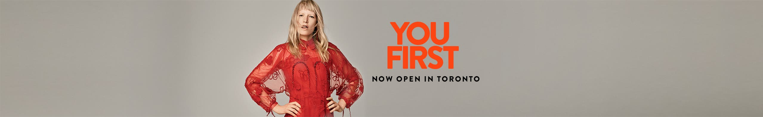 Nordstrom is now open in Toronto.