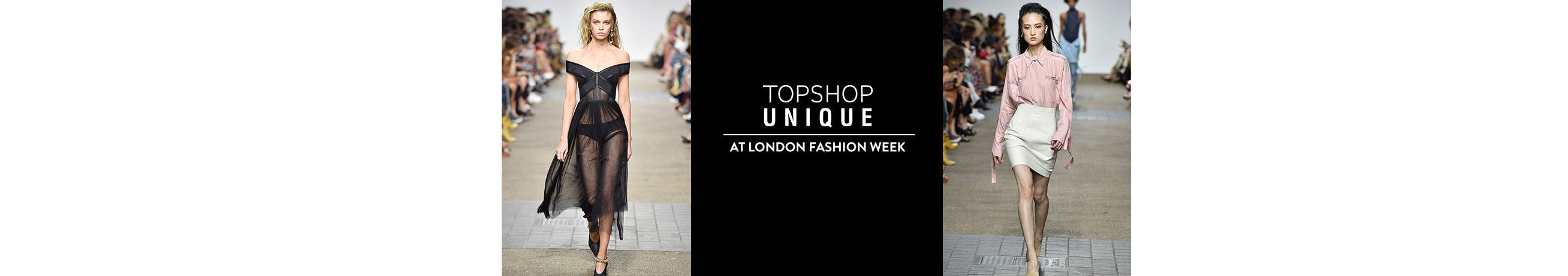 Topshop Unique at London Fashion Week.