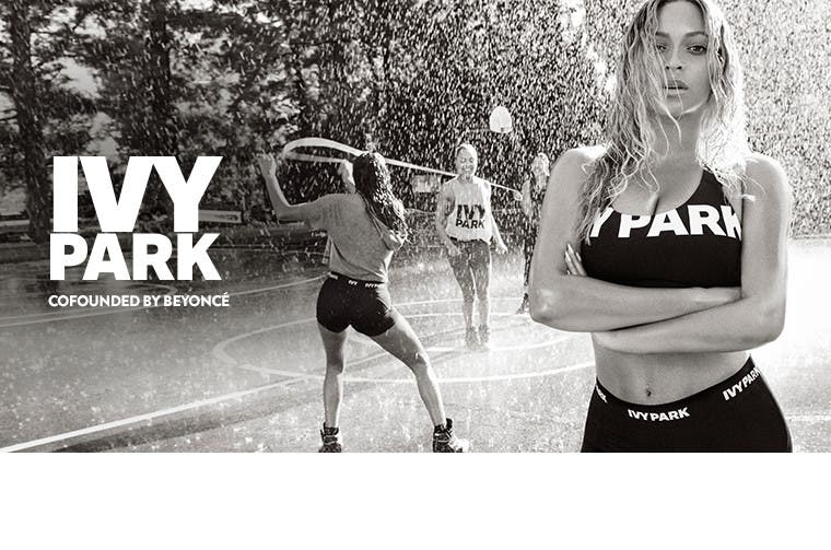 IVY PARK women's activewear, cofounded by Beyoncé.