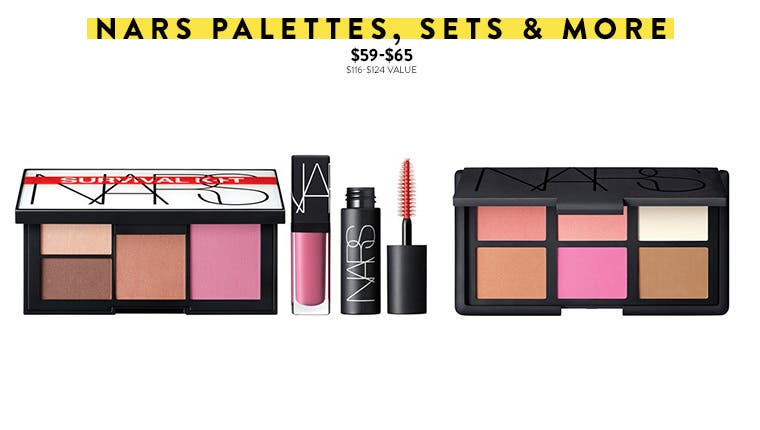 NARS makeup sets.
