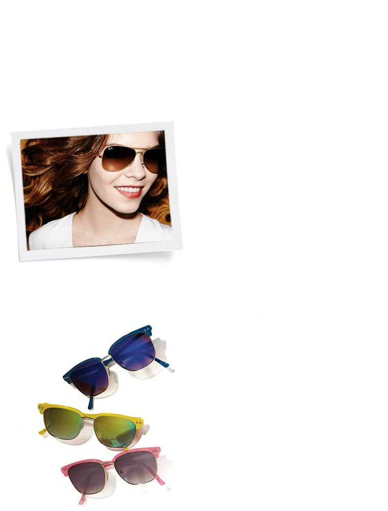 Women's sunglasses fit guide: find frames for your face shape