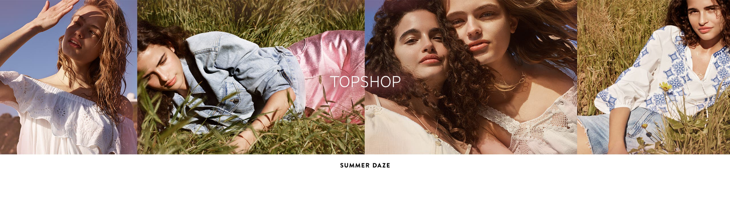 Topshop summer daze.