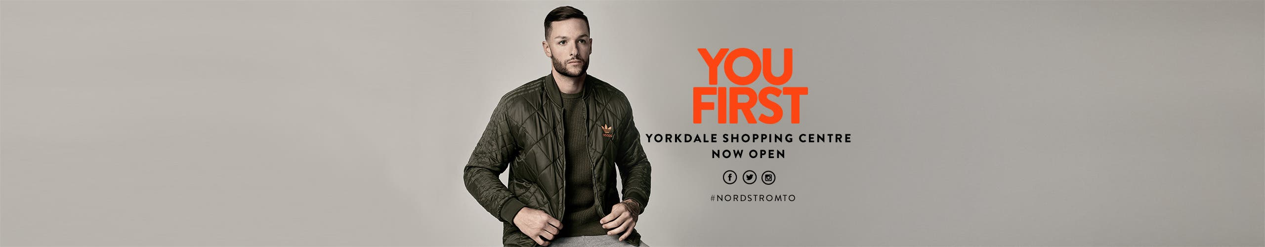 Toronto: you first. Yorkdale Shopping Centre now open.