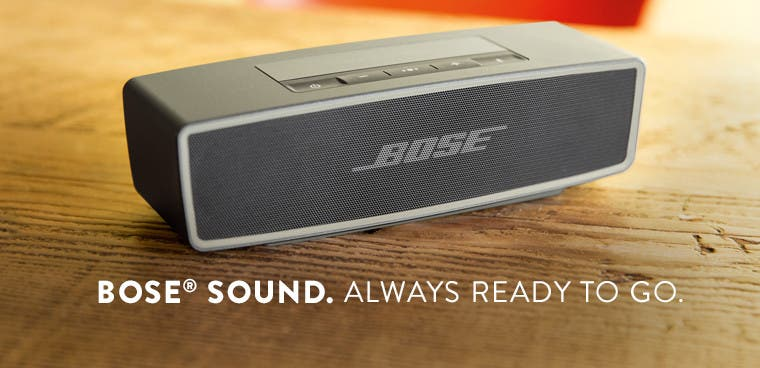 Bose SoundLink mini Bluetooth speaker.