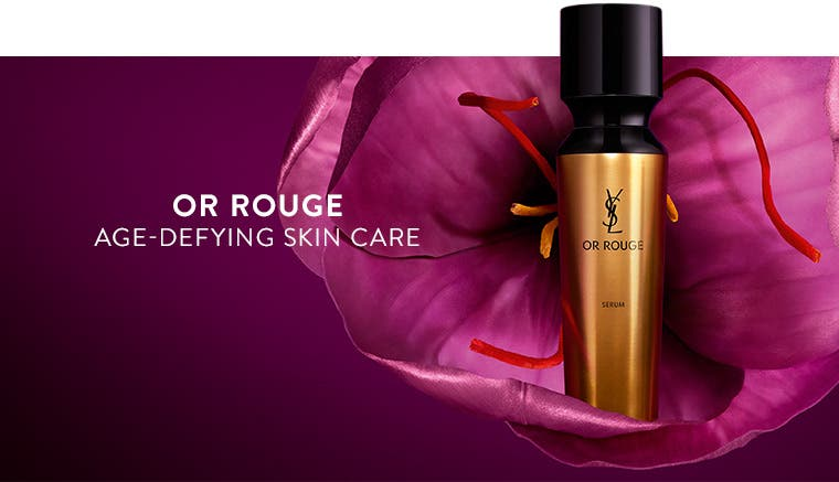 Or Rouge age-defying skin care from Yves Saint Laurent.