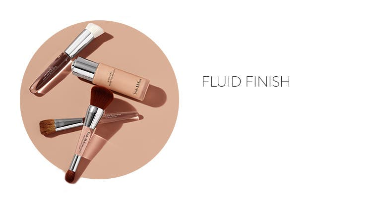 Get a fluid finish with Trish McEvoy.