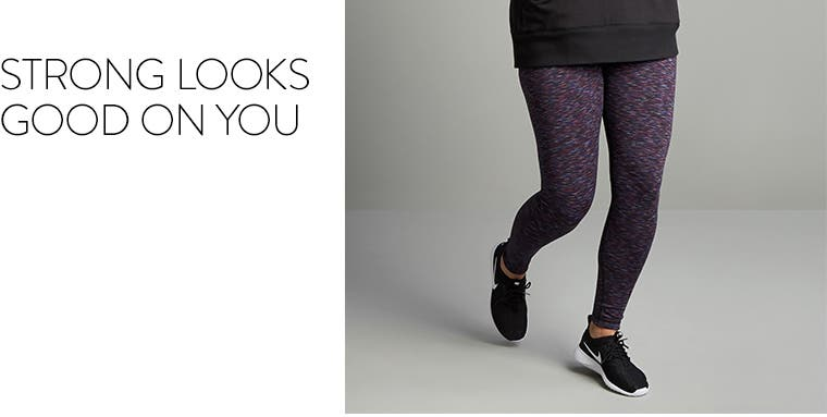 Strong looks good on you: Zella plus-size clothing.