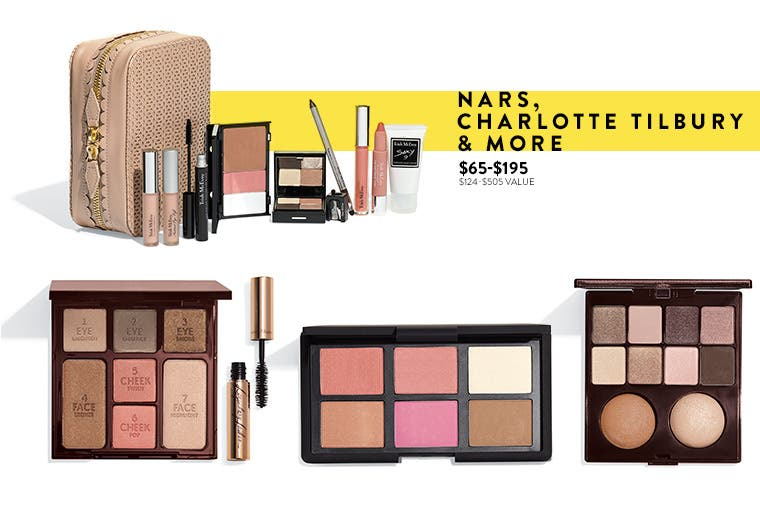 Makeup exclusives.